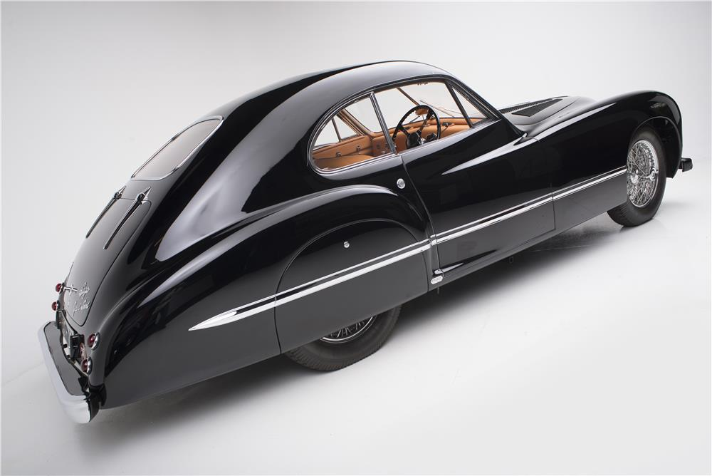 1949 TALBOT-LAGO T-26 GRAND SPORT COUPE FRANAY - Rear 3/4 - 178722