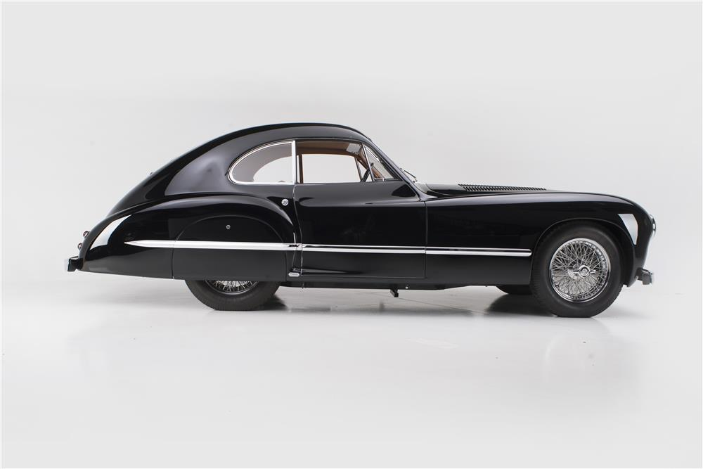 1949 TALBOT-LAGO T-26 GRAND SPORT COUPE FRANAY - Side Profile - 178722