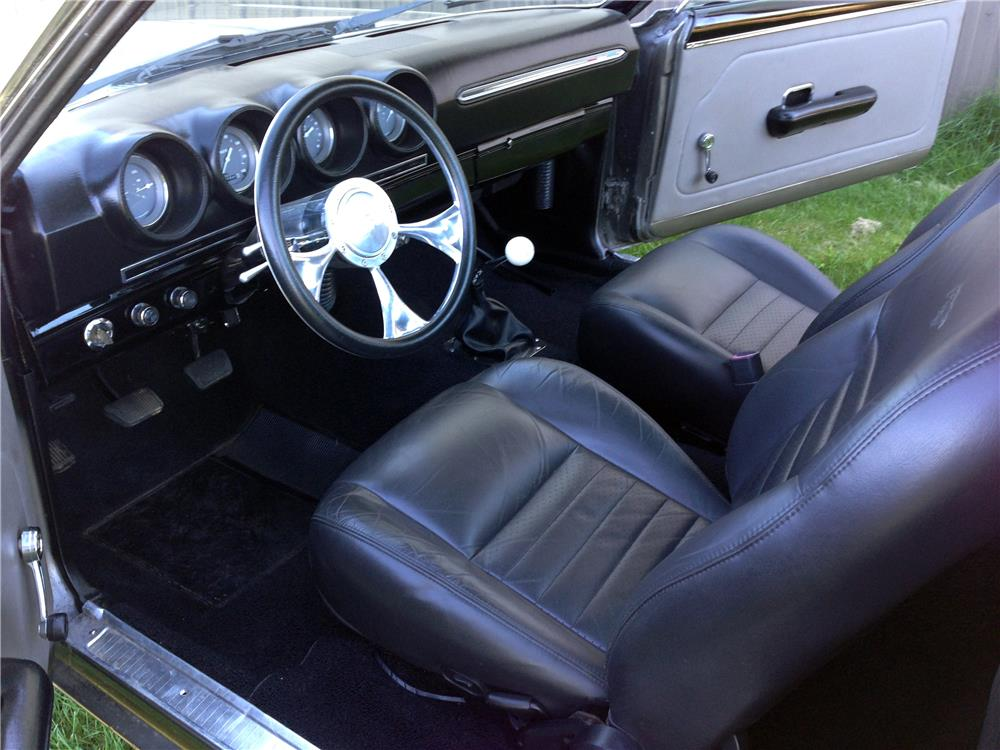 1969 FORD RANCHERO CUSTOM PICKUP - Interior - 179903