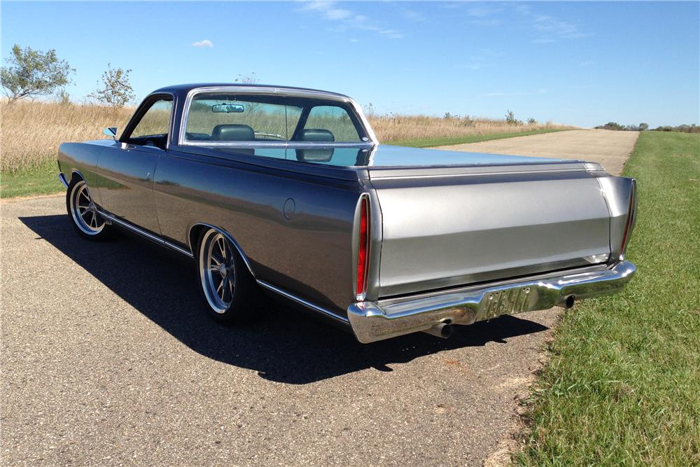 1969 FORD RANCHERO CUSTOM PICKUP - Rear 3/4 - 179903