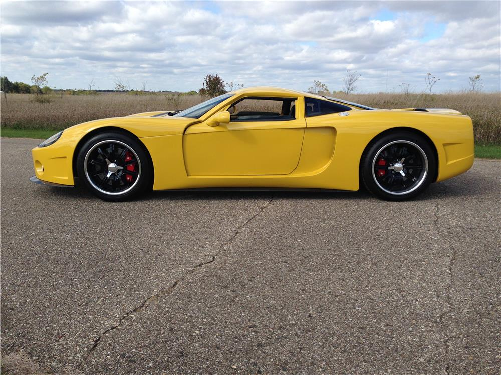 2008 FACTORY FIVE GTM COUPE - Side Profile - 179904