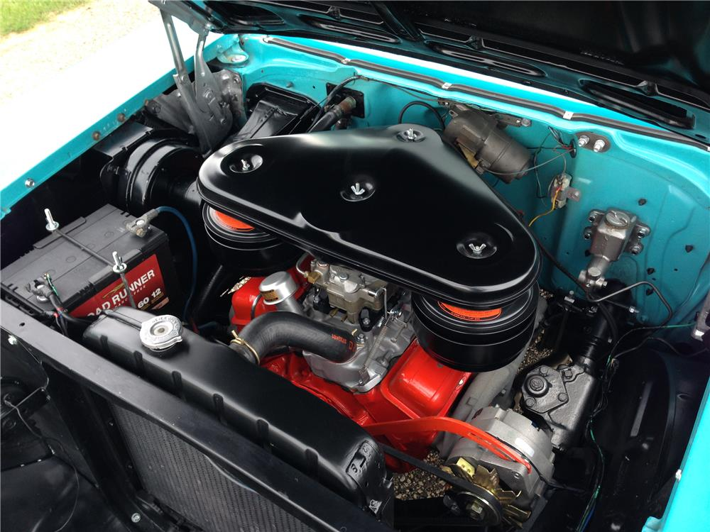 1957 CHEVROLET BEL AIR CONVERTIBLE - Engine - 179905