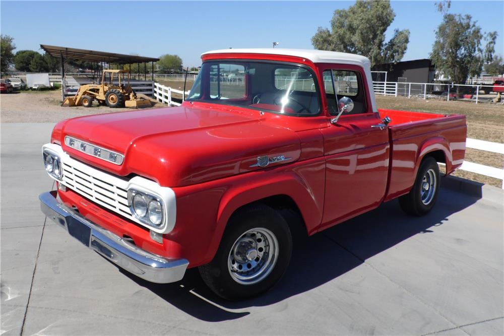 1959 FORD F-100 PICKUP - Front 3/4 - 179923