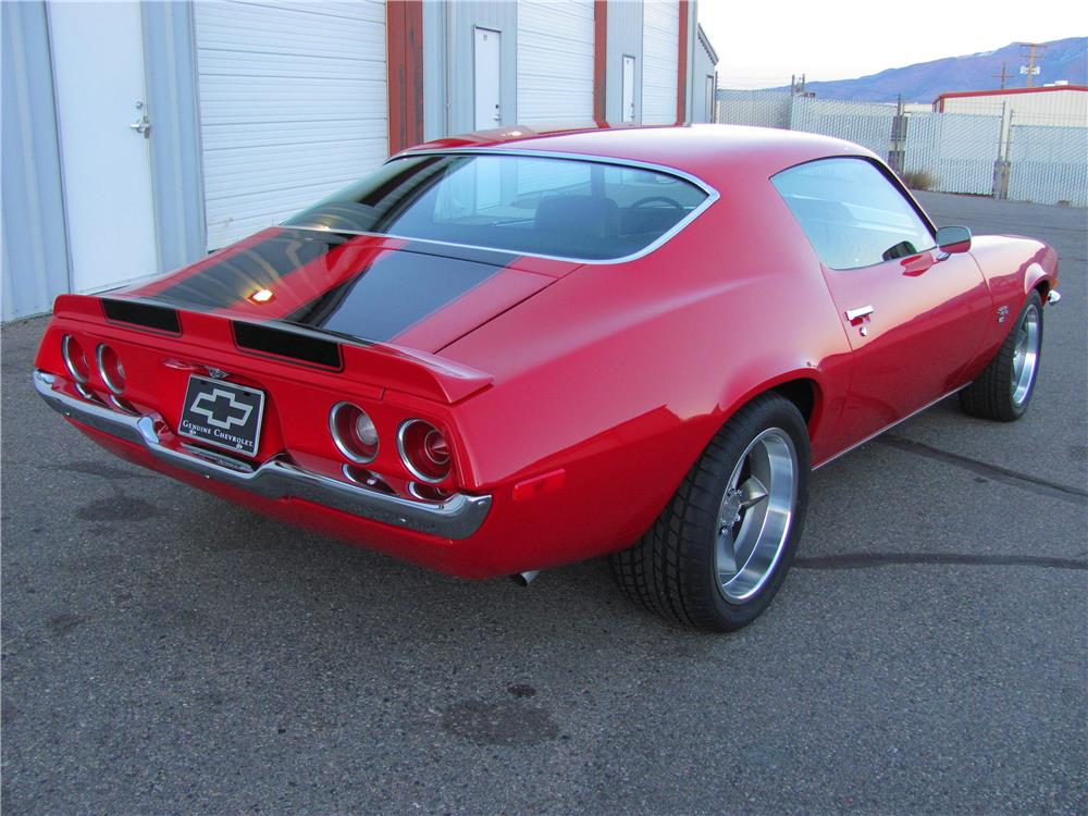 1970 CHEVROLET CAMARO RS/SS - Rear 3/4 - 179934