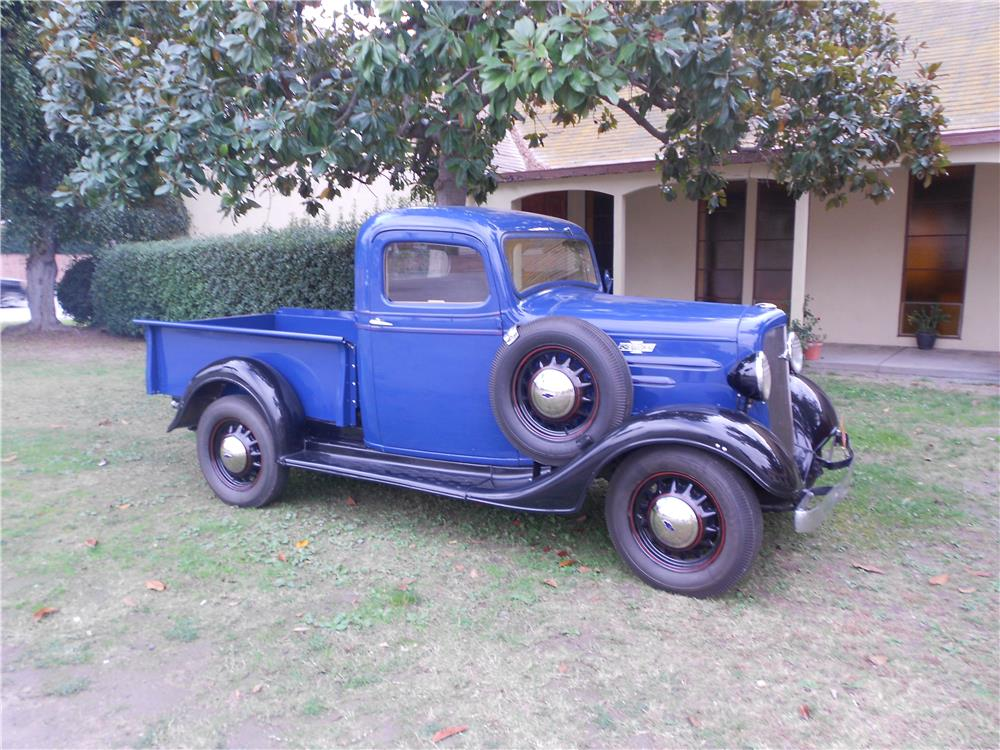 1936 CHEVROLET 3100 PICKUP - Front 3/4 - 179949