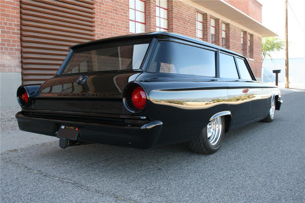 1963 FORD GALAXIE CUSTOM STATION WAGON - Rear 3/4 - 179960