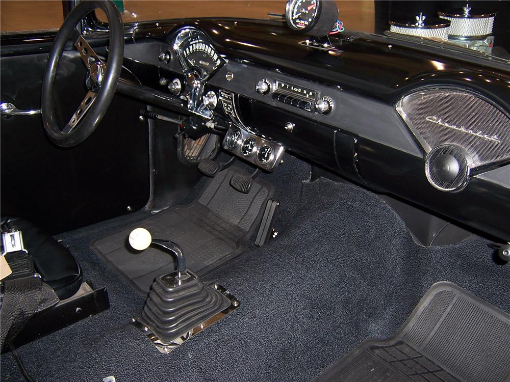 "1955 CHEVROLET CUSTOM  ""TWO LANE BLACKTOP"" - Interior - 179962"