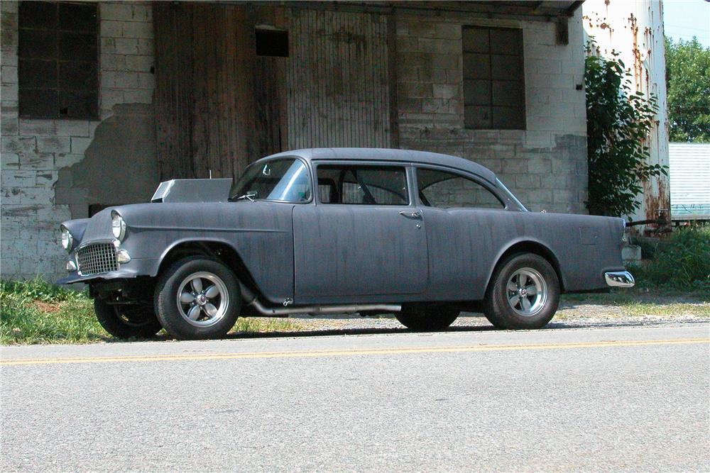 "1955 CHEVROLET CUSTOM  ""TWO LANE BLACKTOP"" - Side Profile - 179962"