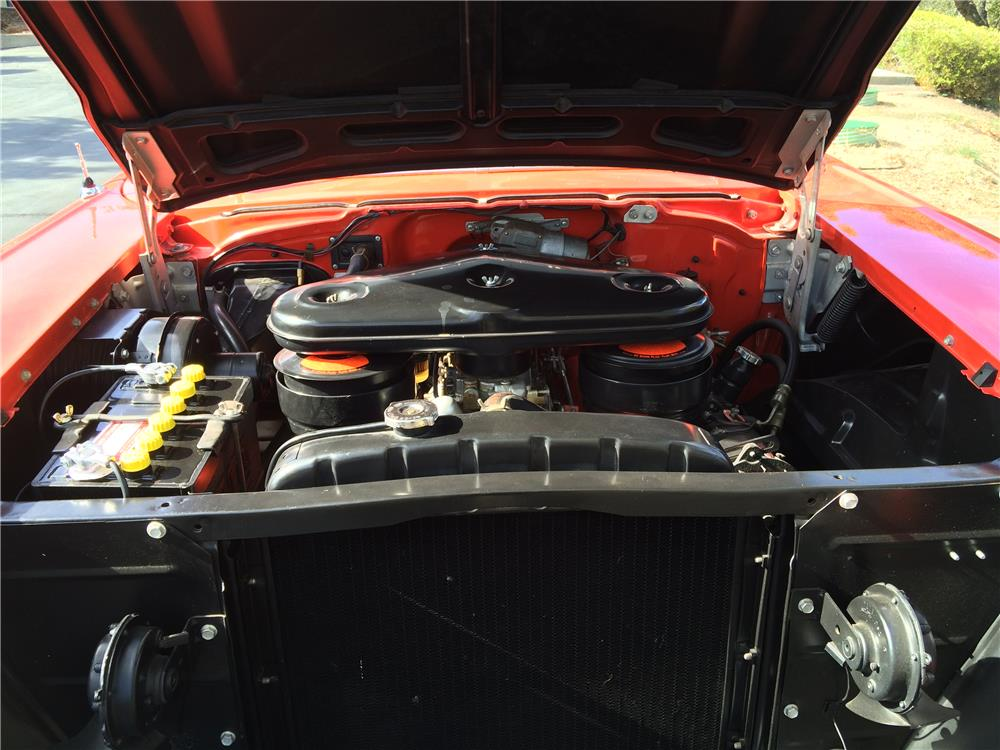 1957 CHEVROLET BEL AIR CONVERTIBLE - Engine - 179969