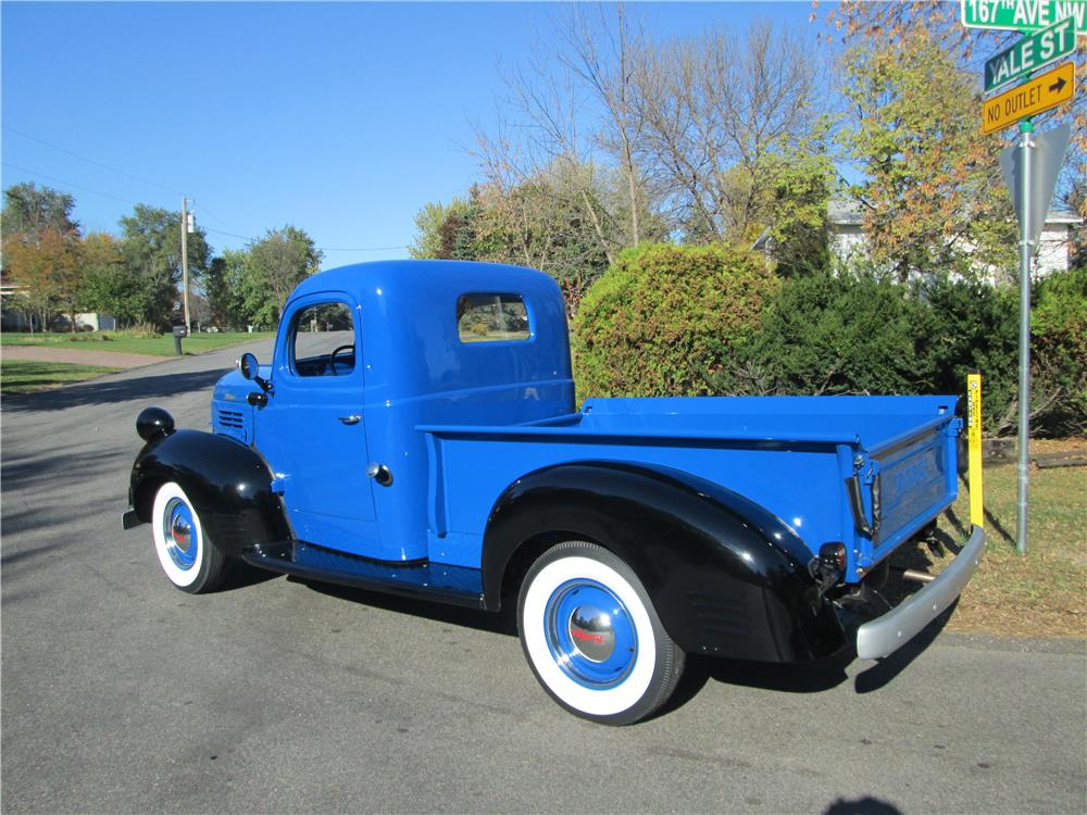 1941 DODGE 1/2 TON PICKUP - Rear 3/4 - 179973