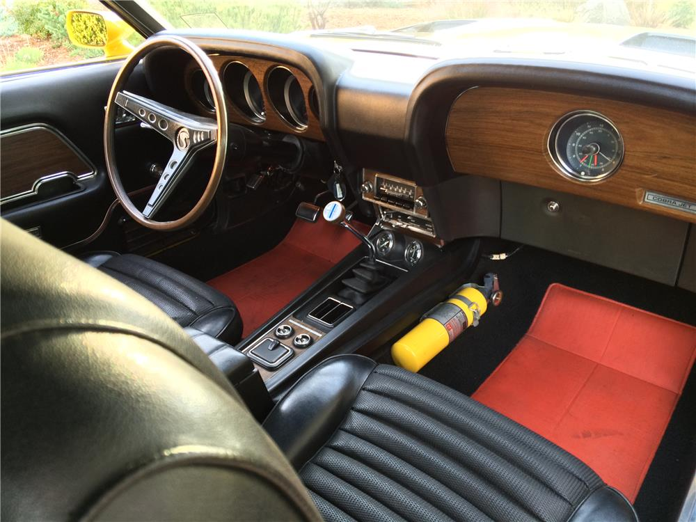 1970 FORD SHELBY GT500 FASTBACK - Interior - 179975