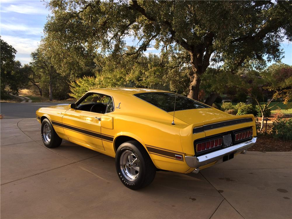 1970 FORD SHELBY GT500 FASTBACK - Rear 3/4 - 179975