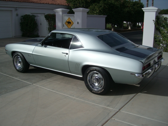1969 CHEVROLET CAMARO Z/28 - Rear 3/4 - 179983