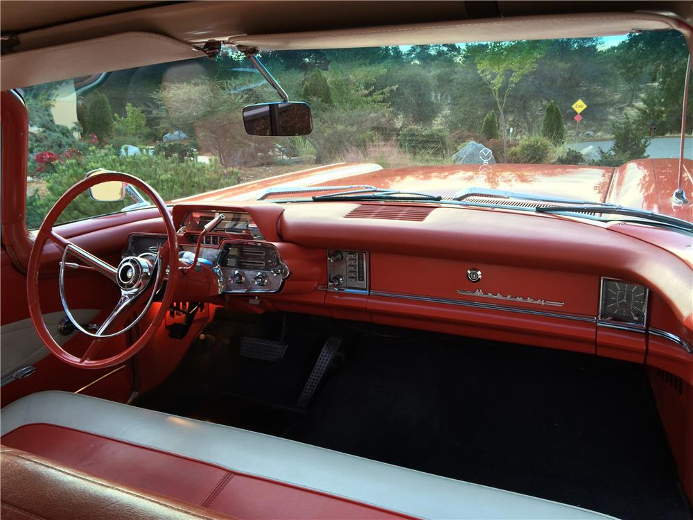 1959 MERCURY MONTEREY CONVERTIBLE - Interior - 179994