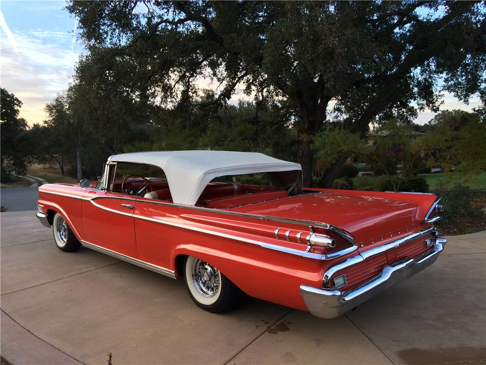1959 MERCURY MONTEREY CONVERTIBLE - Rear 3/4 - 179994