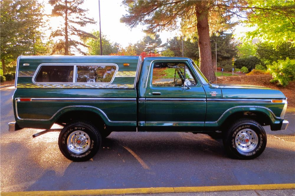1977 ford f 150 pickup side profile 179998