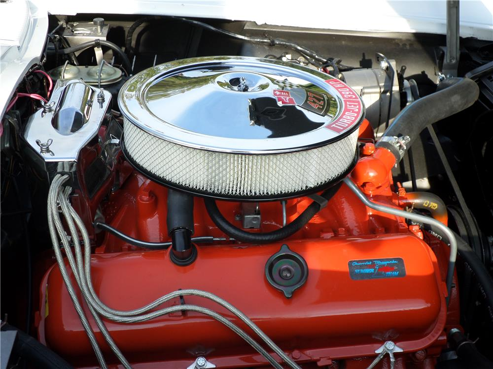 1967 CHEVROLET CORVETTE CONVERTIBLE - Engine - 180002