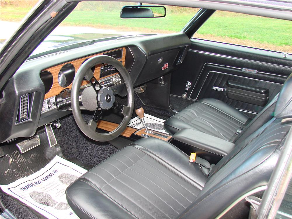 1970 PONTIAC GTO JUDGE - Interior - 180009
