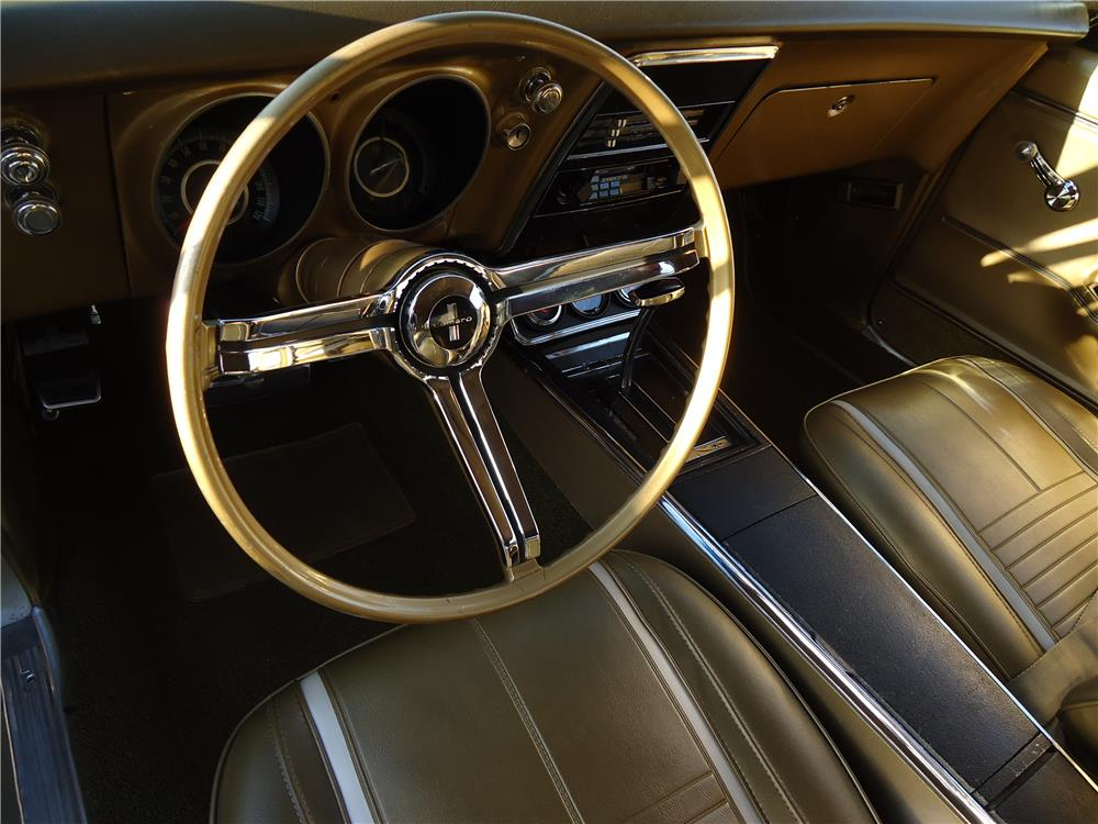 1967 CHEVROLET CAMARO - Interior - 180010
