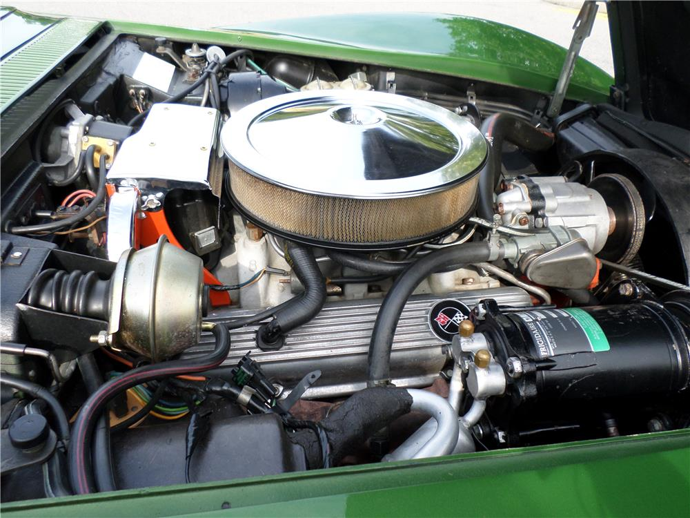 1972 CHEVROLET CORVETTE - Engine - 180011