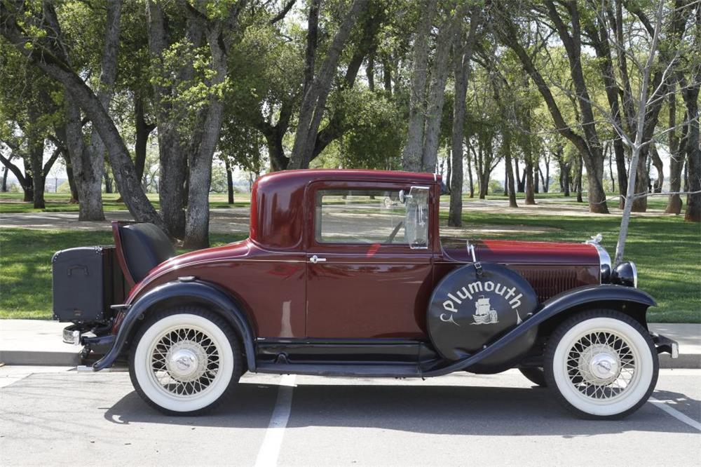 1932 plymouth 2 door coupe 180015