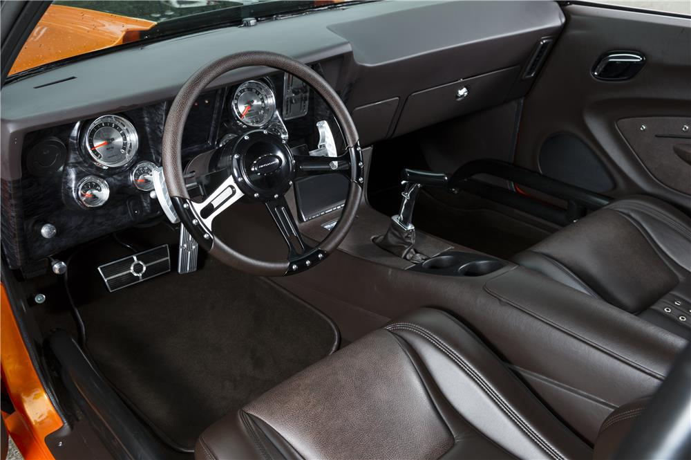 1969 CHEVROLET CAMARO CUSTOM TWIN TURBO - Interior - 180018