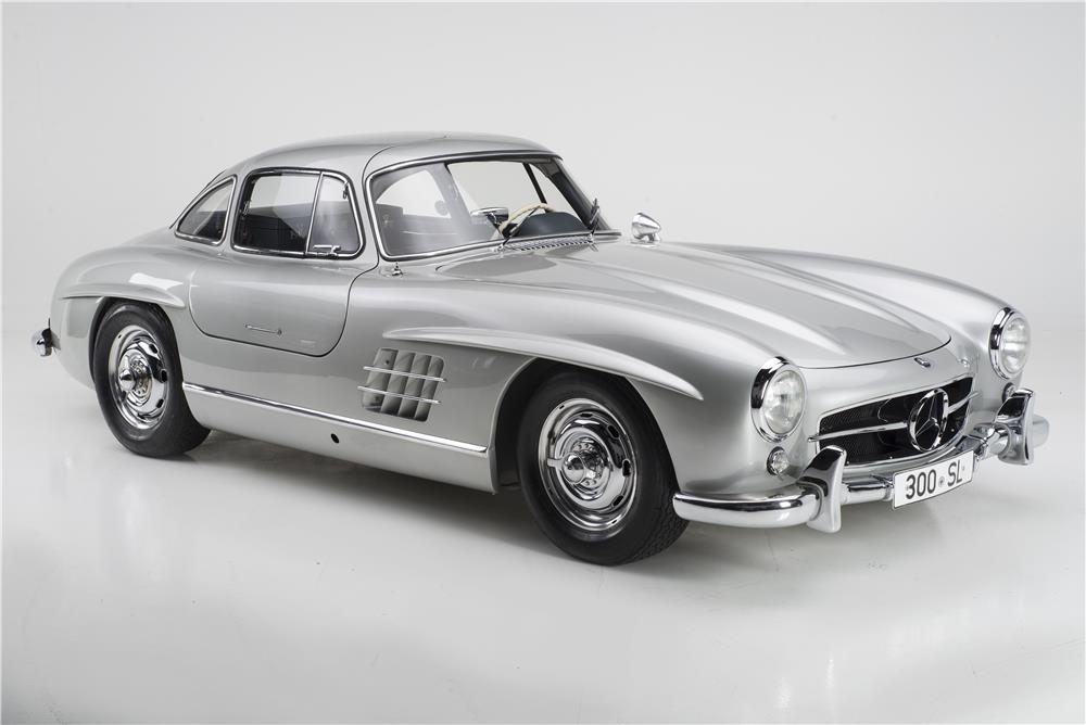 1955 MERCEDES-BENZ 300SL GULLWING - Front 3/4 - 180023