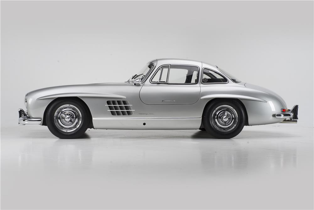 1955 MERCEDES-BENZ 300SL GULLWING - Side Profile - 180023