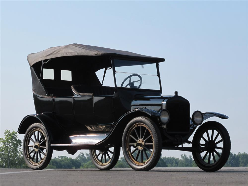 1925 FORD MODEL T TOURING - Front 3/4 - 180031