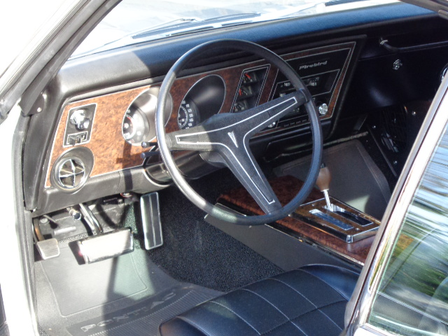 1969 PONTIAC FIREBIRD TRANS AM PROTOTYPE - Interior - 180191