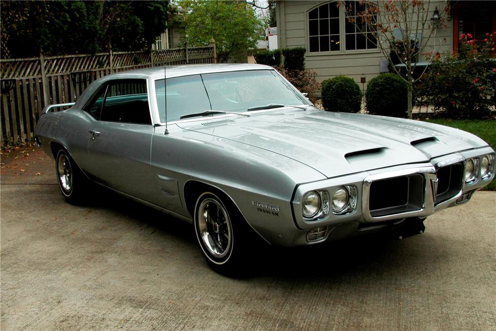 1969 PONTIAC FIREBIRD TRANS AM PROTOTYPE - Side Profile - 180191