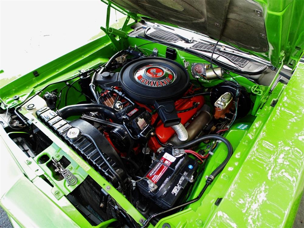 1970 PLYMOUTH 'CUDA - Engine - 180197