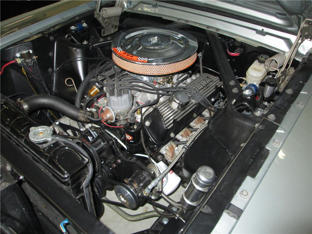 1965 FORD MUSTANG CONVERTIBLE - Engine - 180242