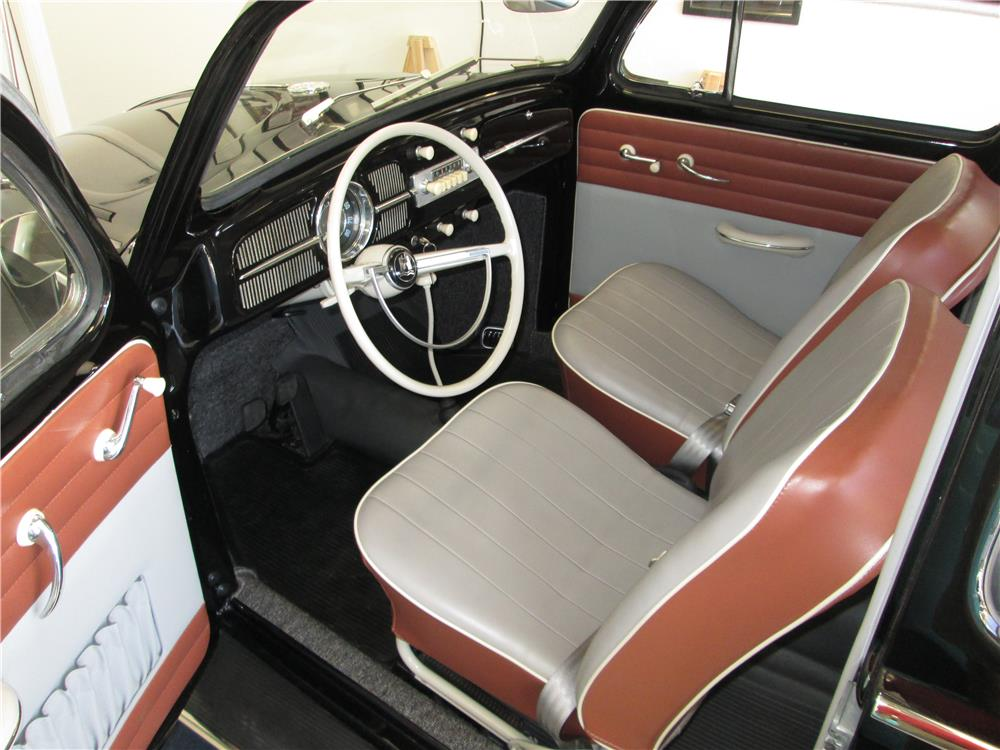 1960 VOLKSWAGEN BEETLE SUNROOF - Interior - 180247