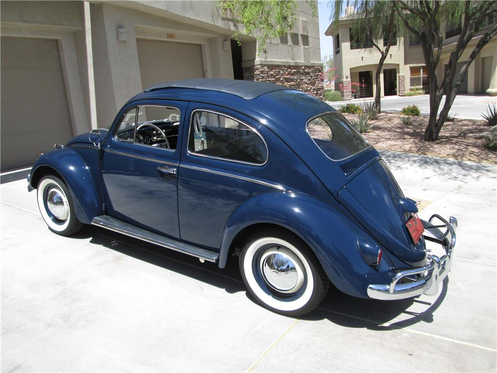 1960 Volkswagen Beetle Sunroof 180249