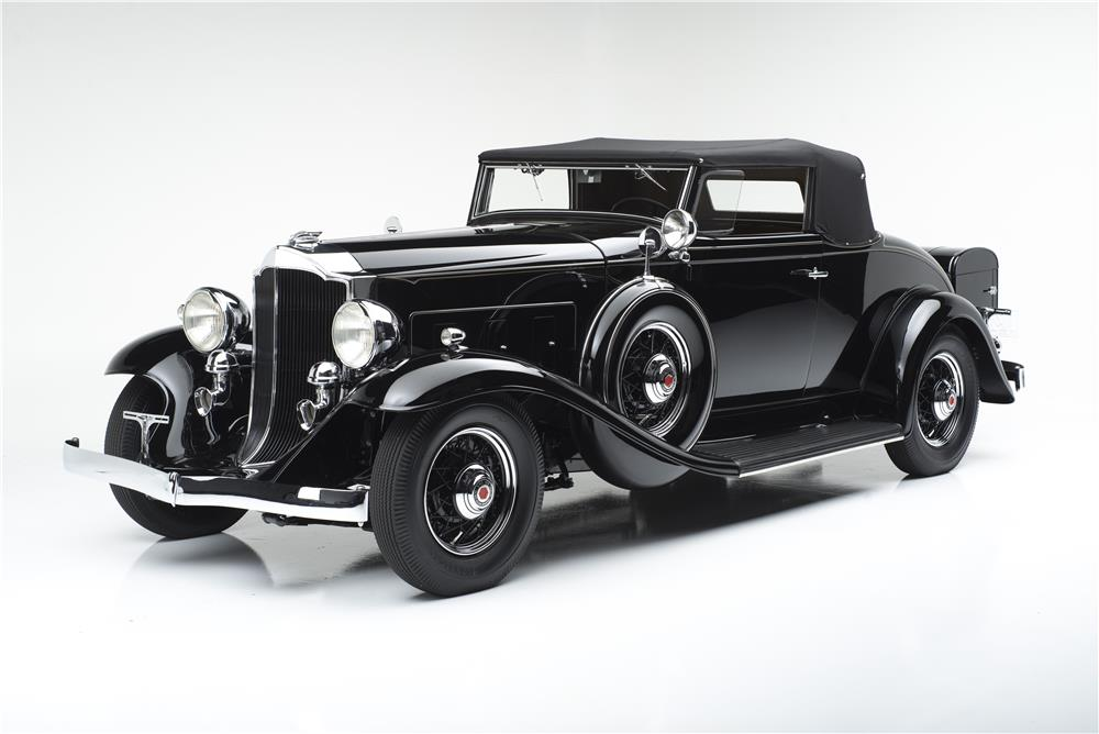 1932 PACKARD 900 ROADSTER - Front 3/4 - 180286
