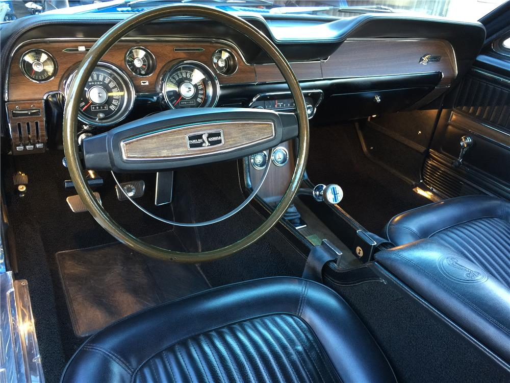 1968 SHELBY GT500 KR CONVERTIBLE - Interior - 180288
