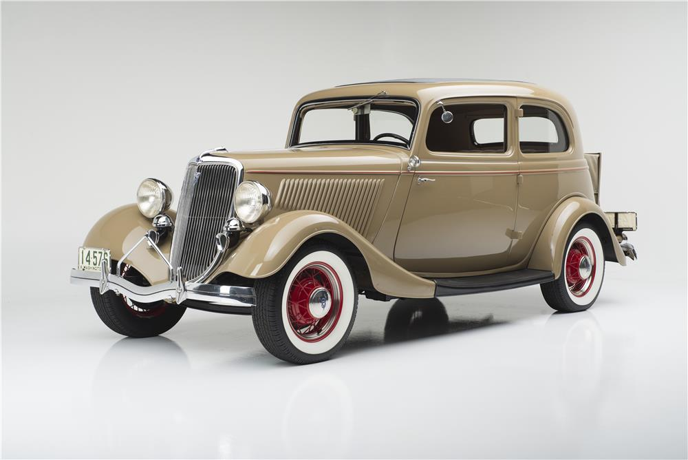 1934 FORD MODEL 18 VICTORIA - Front 3/4 - 180296