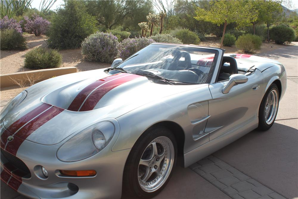 1999 SHELBY SERIES 1 ROADSTER - Front 3/4 - 180302
