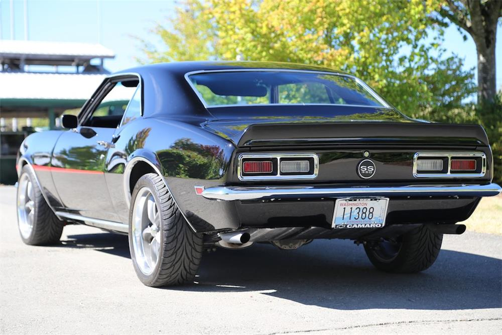 1968 CHEVROLET CAMARO CUSTOM - Rear 3/4 - 180363