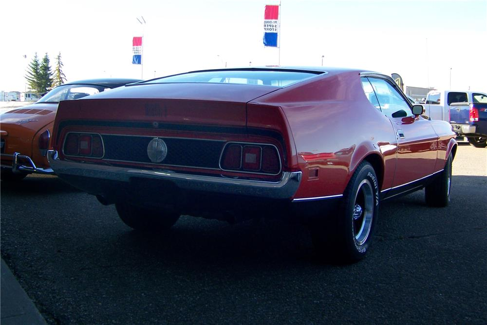 1971 FORD MUSTANG MACH 1 FASTBACK - Rear 3/4 - 180376