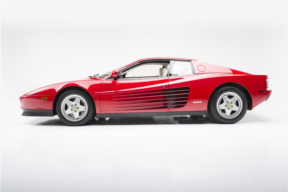 1988 FERRARI TESTAROSSA  - Side Profile - 180378