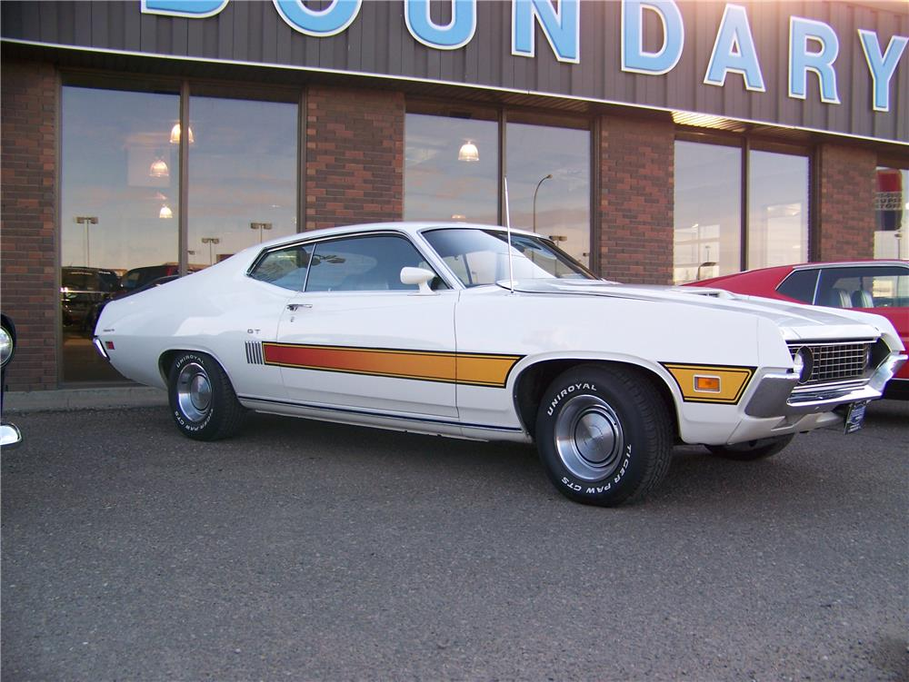1970 FORD TORINO GT FASTBACK - Front 3/4 - 180381