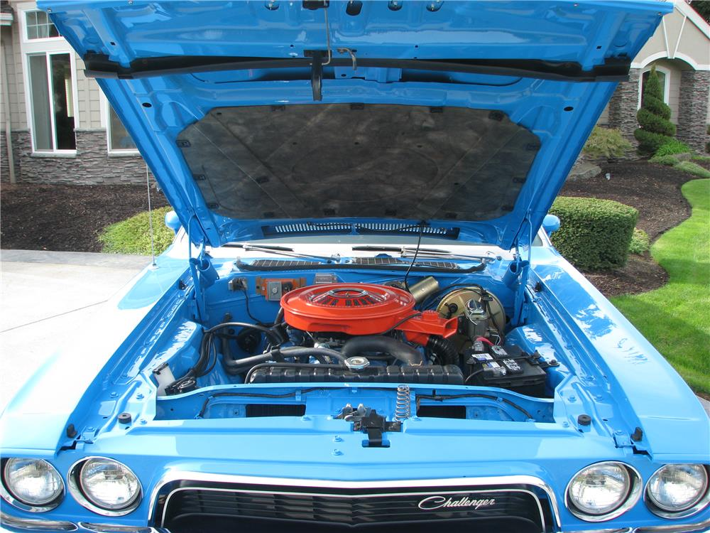 1972 DODGE CHALLENGER RALLYE - Engine - 180479
