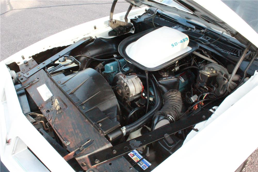 1974 PONTIAC FIREBIRD TRANS AM SUPER DUTY 455 - Engine - 180481