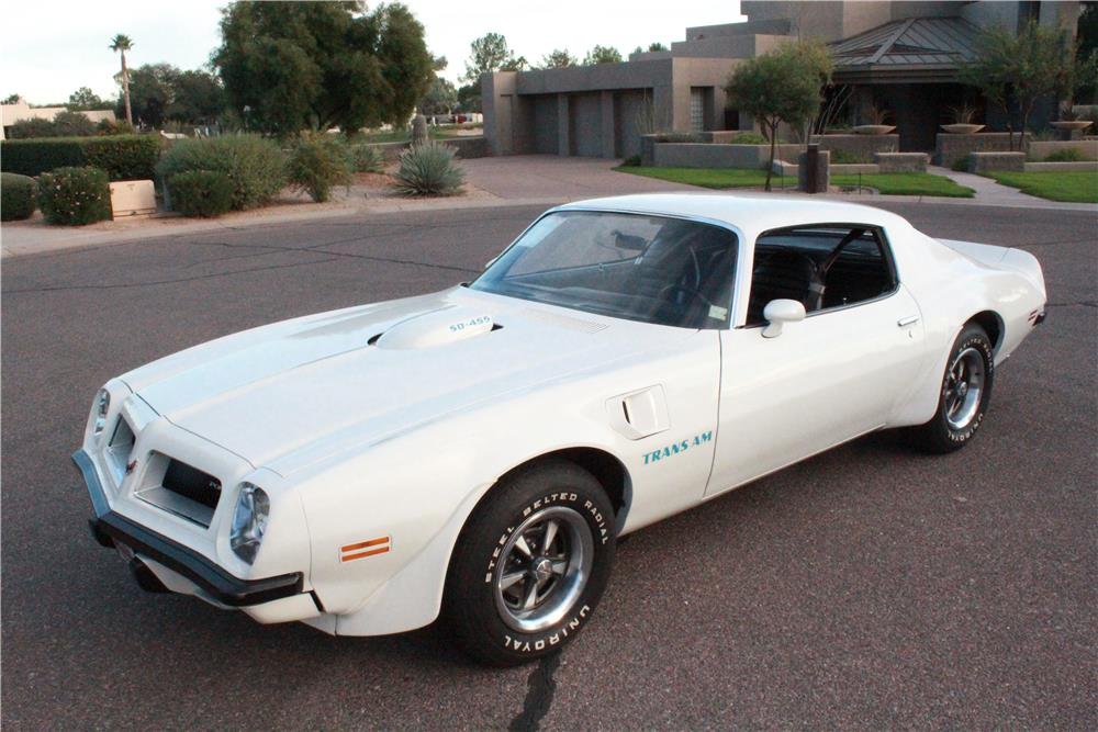 1974 PONTIAC FIREBIRD TRANS AM SUPER DUTY 455 - Front 3/4 - 180481
