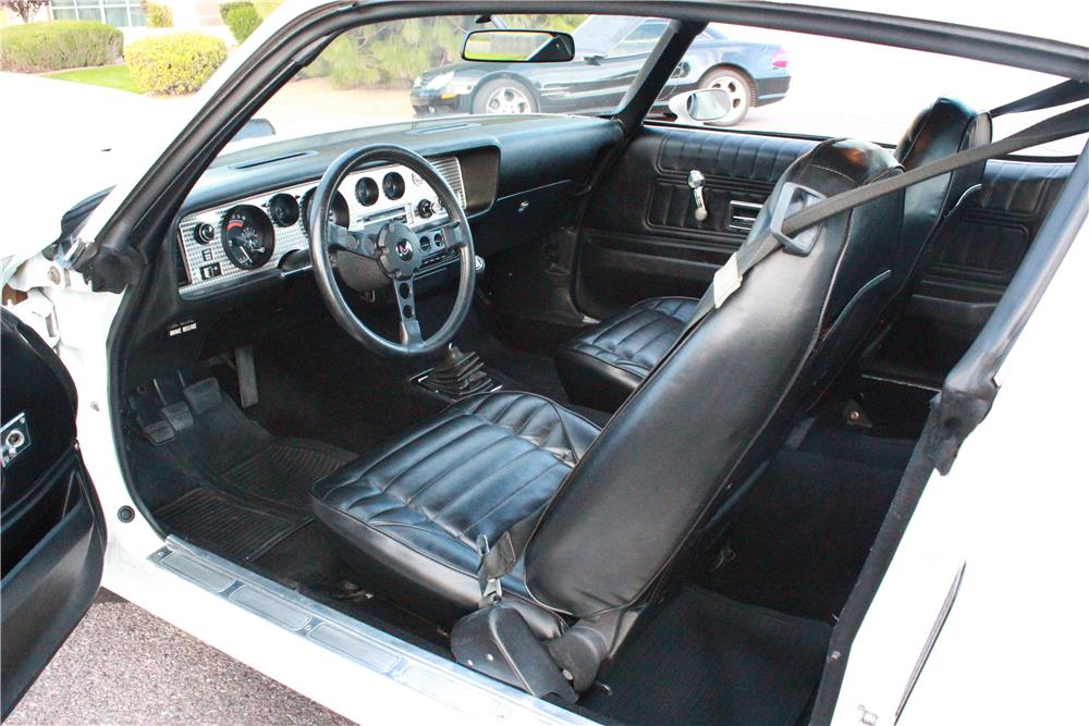 1974 PONTIAC FIREBIRD TRANS AM SUPER DUTY 455 - Interior - 180481