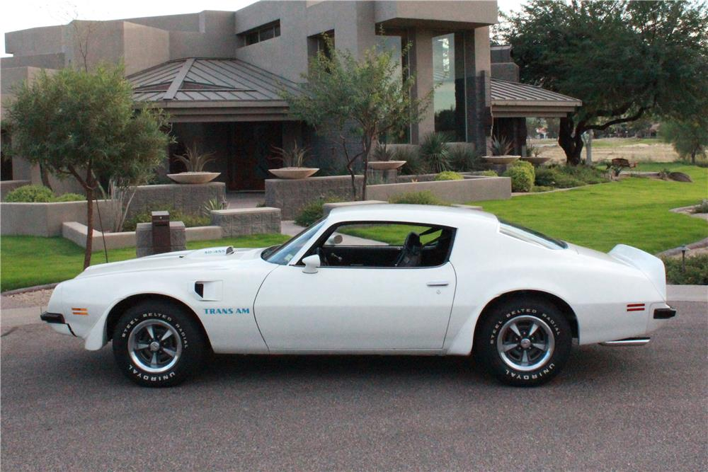 1974 PONTIAC FIREBIRD TRANS AM SUPER DUTY 455 - Side Profile - 180481