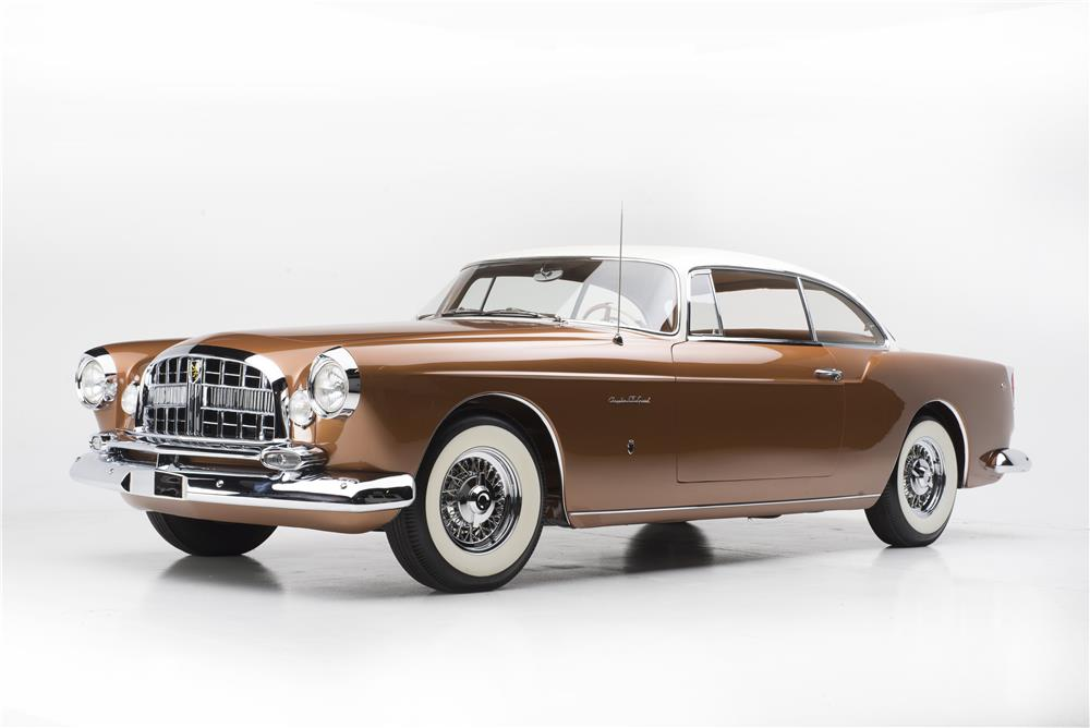 1955 CHRYSLER ST SPECIAL GHIA - Front 3/4 - 180484