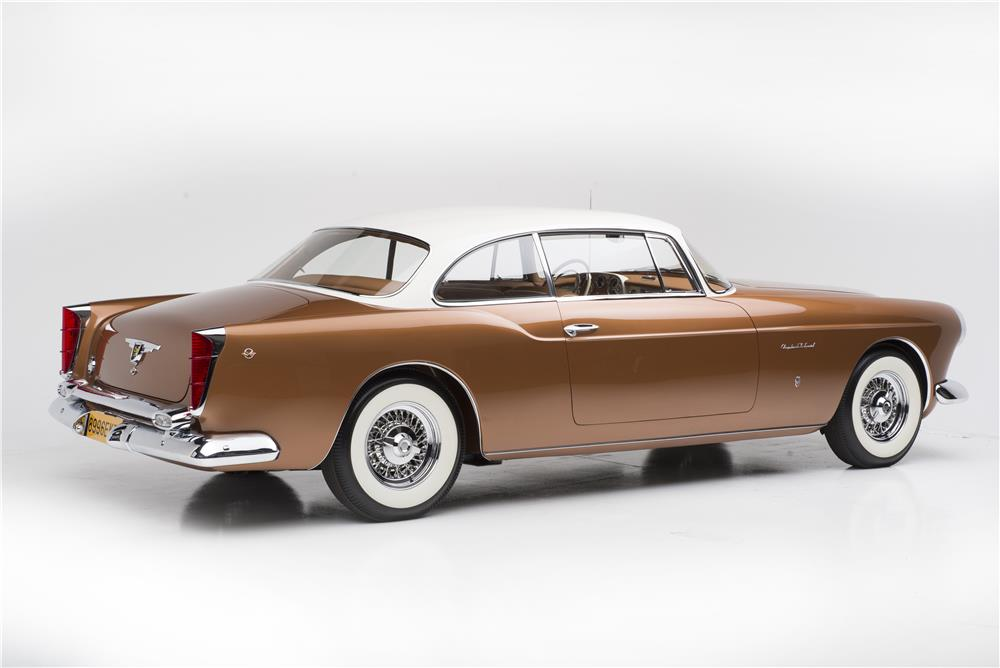 1955 CHRYSLER ST SPECIAL GHIA - Rear 3/4 - 180484